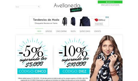 85f64efe846a59 Avellaneda Moda Tienda Online