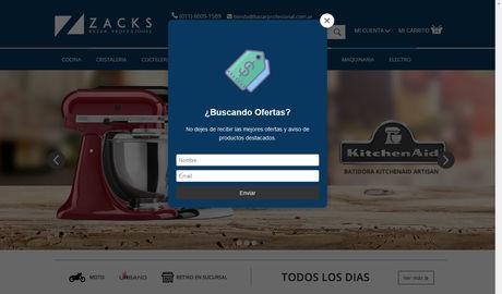 zacks bazar profesional tienda online