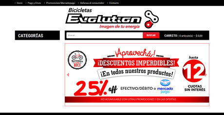Bicicletas Evolution