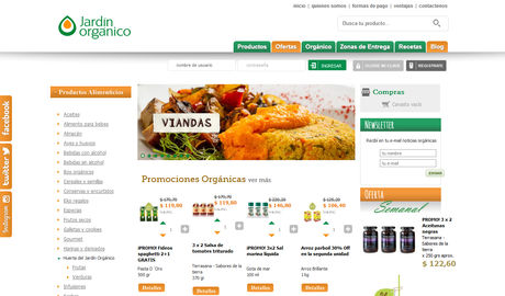 Jardin organico tienda online for Jardin organico