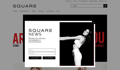 Square Jeans